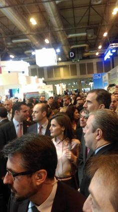 the Royal family, King Felipe and Queen Letizia #fitur #madrid #royalfamily #FITUR2017