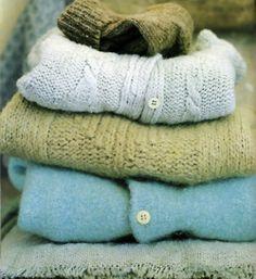 sweaters...