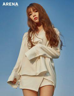 Seunghee (Oh My Girl) - Arena Homme Plus Magazine December Issue Kpop Girl Groups, Korean Girl Groups, Kpop Girls, Oh My Girl Seunghee, Cute Girls, Cool Girl, Girls Twitter, Presents For Girls, Girl Bands