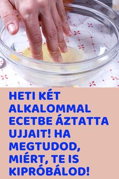 Ha megtudod, miért, te is kipróbálod! Health 2020, Health Eating, Health Fitness, Beauty, Crochet, Diet, How To Lose Weight, Health And Beauty, Tricot