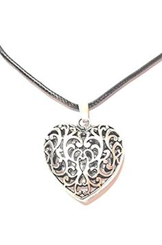 Diamond, Accessories, Jewelry, Oktoberfest, Flower Of Life, Neck Chain, Heart, Silver, Gifts