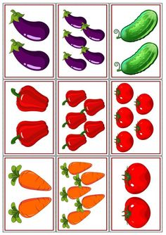 37 Super Ideas for fruit and vegetables preschool games Preschool Learning, Kindergarten Activities, Preschool Crafts, Learning Activities, Preschool Activities, Crafts For Kids, Vegetable Crafts, Fruit Painting, Math For Kids