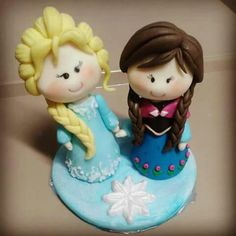 Elsa  & Anna Toppers