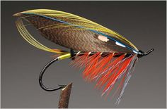 dressed salmon fly - Google Search