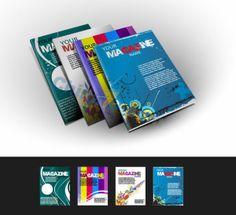 Exquisite album cover design vector material