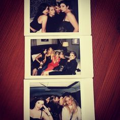 taylorswift:  The whole team at @therealsarahhyland's 24th birthday soirée last night.