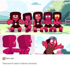 I forgot about the other two ruby oops ruby Squad Watch Cartoons, Cool Cartoons, Rhodonite Steven Universe, Steven Universe Memes, Cartoon Network, Scary, Geek Stuff, Sleep, Fandoms