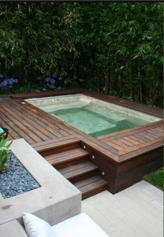 Beautiful outdoor space. #outdoor #space #jacuzzi
