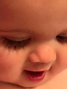 Beautiful Long Lashes and Beautiful Sweet Lips