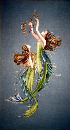 Mirabilia Mermaids of the Deep Blue Cross Stitch Pattern Mirabilia Designs,http://www.amazon.com/dp/B0046MSV1I/ref=cm_sw_r_pi_dp_138ftb1638AWFXG5