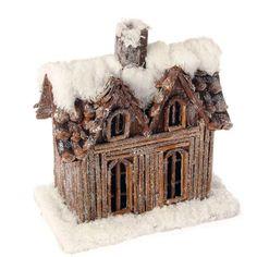 Pretzel gingerbread house