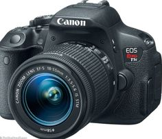My biggest want, the cannon rebel t5i camera! Got an amazing camera from Andy, so won't be needing this one