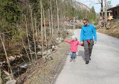 Wandern mit Kindern zur Hafner Alm