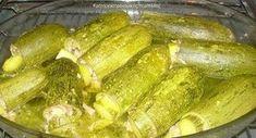 Κολοκυθάκια γεμιστά με κιμά και σάλτσα αυγολέμονο - cretangastronomy.gr
