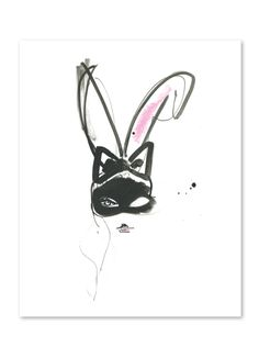Bunny Ears by Miyuki Ohashi, prints on buddyeditions.com