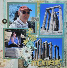 Temple of Zeus, Athens, Greece - RIGHT SIDE - Scrapbook.com