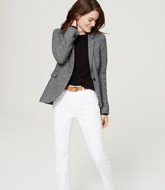 Image of Petite Flannel Blazer