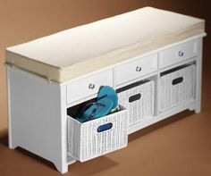 Home Decorators Collection - Entryway Furniture - Furniture - The Home Depot Target Furniture, Entryway Furniture, Furniture Design, Home Depot, Storage Bench With Baskets, Bench Storage, Bay Window Benches, Breakfast Nook Table, Kitchen Storage