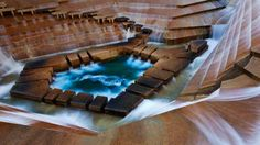 Fort Worth Water Gardens, Fort Worth, Texas (© Jeremy Woodhouse/Corbis)