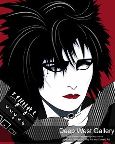 Siouxsie By Agent X Original 52 x 42 inches or 203 x 152 cm Prints 38 x 30 inches or 96 x 76 cm Edition of 40 Signed Punk Poster, Multimedia Artist, Gothic Rock, Rock Legends, Post Punk, New Artists, Beautiful Eyes, Urban Art, Fine Art Paper