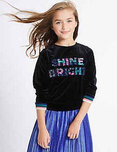Shine Bright Sweatshirt (3-14 Years)