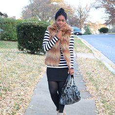 stripes + fur