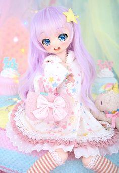 Anime Dolls, Bjd Dolls, Pretty Dolls, Beautiful Dolls, Cute Baby Dolls, Kawaii Doll, Cute Cartoon Girl, Anime Figurines, Realistic Dolls