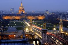 The golden dome of the Invalides, Paris, France