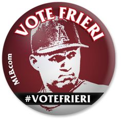 I'm expecting a mammoth fruit basket from Ernesto Frieri if he gets voted to the #ASG.