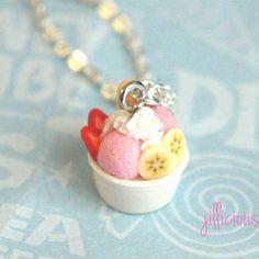 frozen yogurt necklace