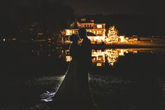 The Oaks at Salem Wedding night shot