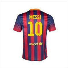 eac62c60111 Mens 2013/14 FC Barcelona Lionel Messi 10 Home Soccer Jersey 820103337403  on eBid United