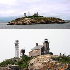 GRANITE ISLAND LIGHTHOUSE With the discovery of iron ore in Marquette County around 1840, the area quickly became one of the busiest ports in the Upper Peninsula.- Travel Marquette Michigan