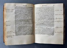 Dee began collecting books at an early age. The work of history shown - attributed to Arrian, Hanno, Plutarch and Strabo - was purchased by John Dee in 1547 at the age of twenty and annotated by him in Greek and Latin.Arriani & Hannonis periplus. Plutarchus de fluminibus & montibus. Strabonis epitome Printed in Basel by Froben in 1533