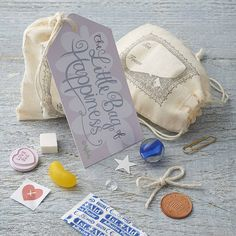 little bag of happiness by leelu | notonthehighstreet.com