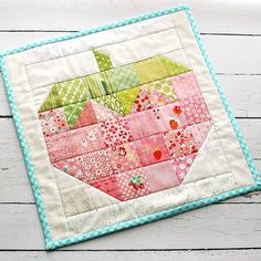 Finished the sweetest scrappy strawberry from #farmgirlvintage This book is just bursting with cuteness! Love love love it @beelori1 | Flickr - Photo Sharing!