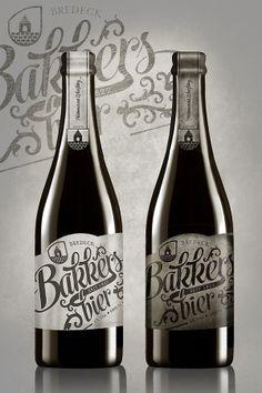Bakker's Bier by Eric Eijkhout, via Behance