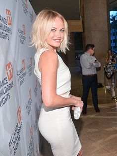 Star Tracks: Tuesday, April 8, 2014   YOU GLOW, GIRL   Malin Akerman glams up for a good cause at Monday's Alliance for Children's Rights dinner in Beverly Hills.
