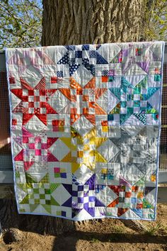 THE QUILT BARN: Scrap Jar Stars Guild Quilt Star Quilts, Rag Quilt, Scrappy Quilts, Mini Quilts, Quilt Blocks, Quilting Tutorials, Quilting Projects, Quilting Designs, Sewing Projects