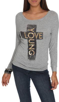 #Wet Seal                 #love                     #Young #Love #Hachi #Sweatshirt #Shop #Tops #Seal   Young Love Hachi Sweatshirt | Shop Tops at Wet Seal                           http://www.seapai.com/product.aspx?PID=307493