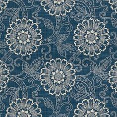 "GAMIN INDIGO END USE:	Drapery, Bedding, Pillows, Light Use Furniture WIDTH:	54"" REPEAT:	Vertical - 8.00"" FIBER CONTENT:	55% Linen, 45% Rayon $32.99"
