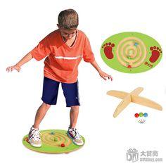 Entrenamiento de integración sensorial / juguetes exterior / pies de cuentas de madera juego equilibrio juegos / niños deportes af00568 0.9 en   de   en AliExpress.com | Alibaba Group