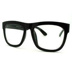 Black Oversized Square Glasses Thick Horn Rim Clear Lens Frame: Oversized wayfarer clear lens glasses with thick square frame. Sunglasses Accessories, Women's Accessories, Sunglasses Women, Sunglasses Store, Buddy Holly Glasses, Men Eyeglasses, Glasses Frames, Eye Glasses, Womens Glasses