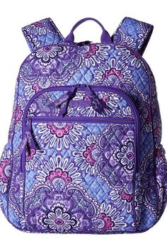 Vera Bradley Campus Tech Backpack (Lilac Tapestry) Backpack Bags - Vera Bradley, Campus Tech Backpack, 18198-669, Bags and Luggage Backpack, Backpack, Bag, Bags and Luggage, Gift, - Street Fashion And Style Ideas
