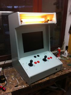 Working on my NES Bartop Arcade. Basics are done. Next: Decals!