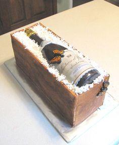 chocolate wine bottle cake                                                                                                                                                                                 More
