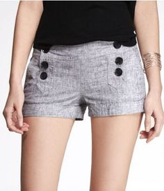 2 INCH STRETCH COTTON SAILOR SHORTS | Express | Clothing to Buy ...