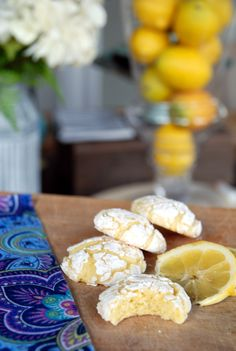 These are my new favorite lemon cookies IN THE WORLD. They are bakery-worthy. Beautiful to look at and so light and tender -- they're like little lemon clouds dusted in powdered sugar. What these are not is crunchy. In fact, they're sort of a riff on gooey butter cake which is, of course, tender and fluffy. So if you're looking for a lemon cookie that has some heft and crunch, these are not your jam. But if you're looking for soft and tender, light and lemony, these are your n...