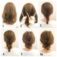 Lockere Hochsteckfrisuren Für Mittellange Haare My Style