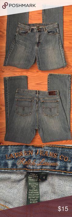 """Ralph Lauren jeans RL classic bootcut jeans, inseam 31"""" minor wear on bottom cuff Ralph Lauren Jeans Boot Cut"""